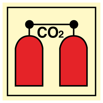 CO2 release station