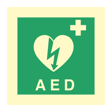 AED - Emergency Signs