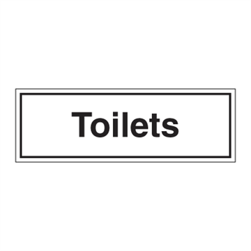 Toilets - ISPS Code Signs