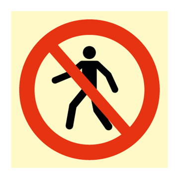 No access - Prohibition Signs