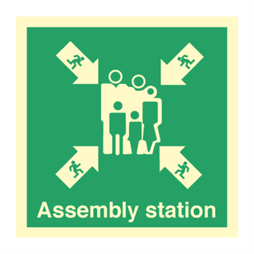 Assembly Station - Direction Signs