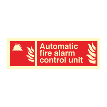 Automatic fire alarm - Fire Signs