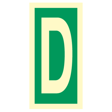Character D - Direction Signs