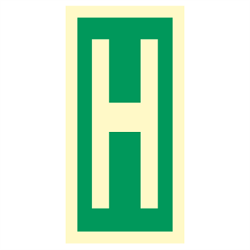 Character H - Direction Signs