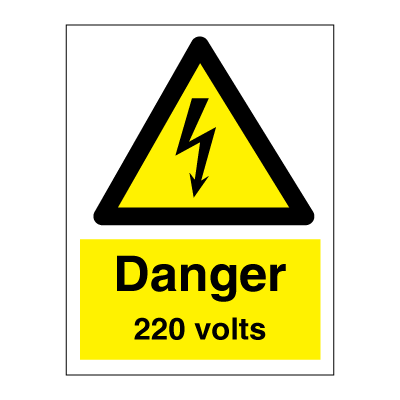 danger 220 volts. Black Bedroom Furniture Sets. Home Design Ideas