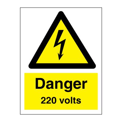 danger 220 volts. Black Bedroom Furniture Sets. Home Design Ideas