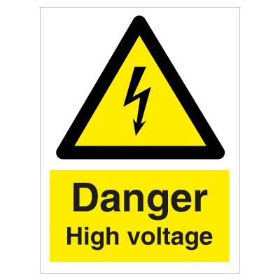 danger high voltage hazard signs order now