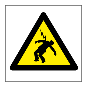 Danger of death - Hazard & Warning Signs