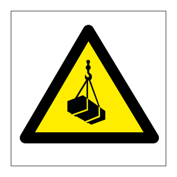Danger Overhead working - Hazard & Warning Signs