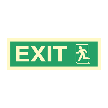 Exit left - Direction Signs