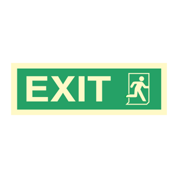 Exit right - Direction Signs