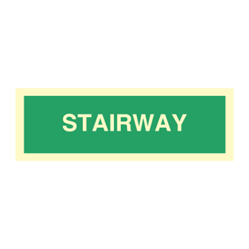 Stairway - Direction Signs