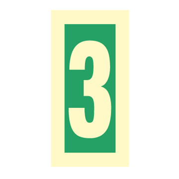 Number 3 - Direction Signs
