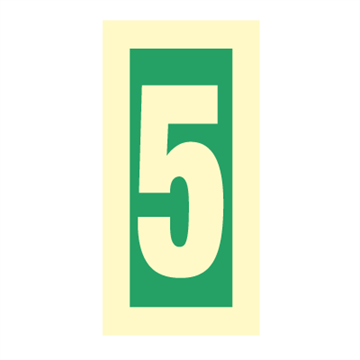Number 5 - Direction Signs