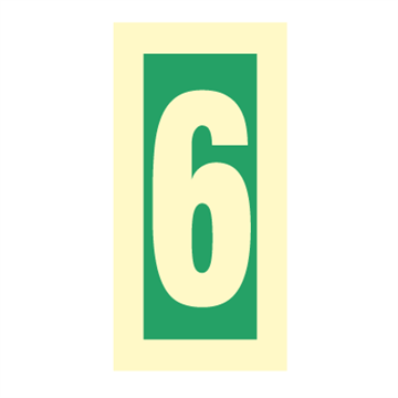 Number 6 - Direction Signs