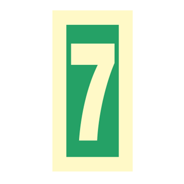 Number 7 - Direction Signs