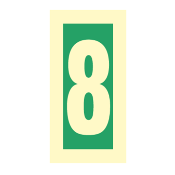 Number 8 - Direction Signs