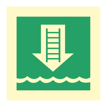 Embarkation ladder - IMO Symbols