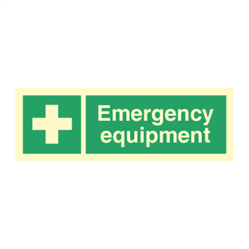 Emergency equipment - Direction Signs