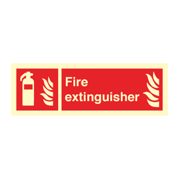 Fire exinguisher - Fire Signs