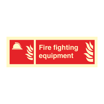 Fire fighting equipment - Fire Signs