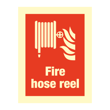 Fire hose reel - Fire Signs