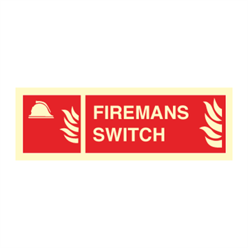 Firemans switch - Fire Signs