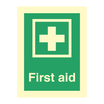 First aid - Emergency Signs