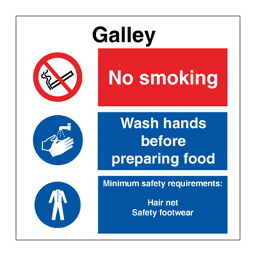 Galley - Combination Signs
