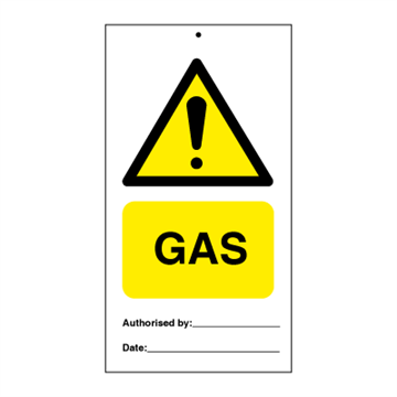 GAS (packed in 10) - Tie Tags
