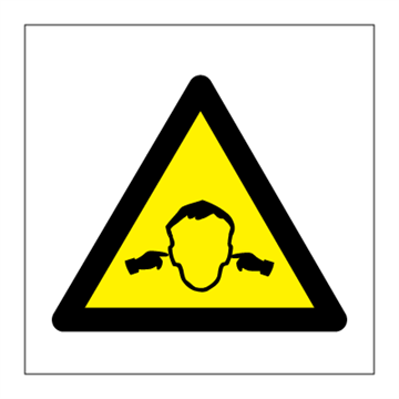 High noise - Hazard & Warning Signs