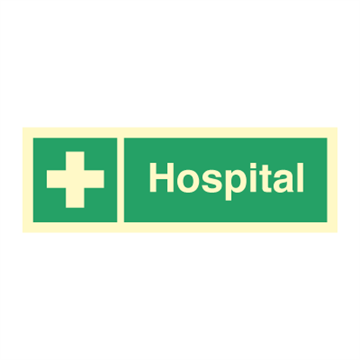 Hospital - Emergency Signs