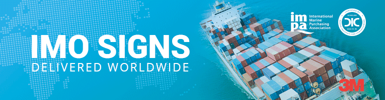 imo signs from Denfoil Maritime