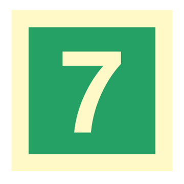 Number 7 - IMO Symbols