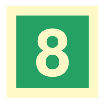 Number 8 - IMO Symbols