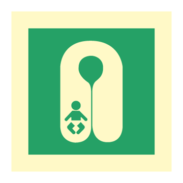 Infant lifejacket - IMO Symbols
