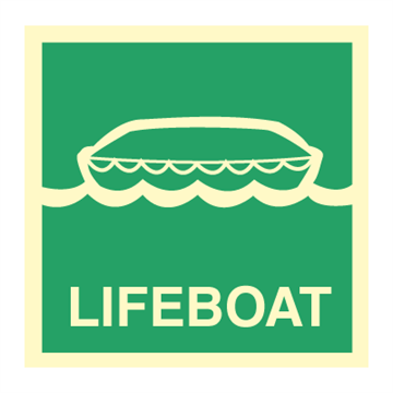 Lifeboat - Direction Signs