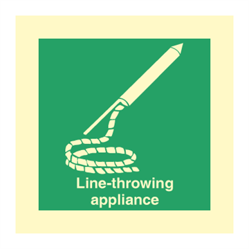 Line-throwing appliance - IMO Symbols