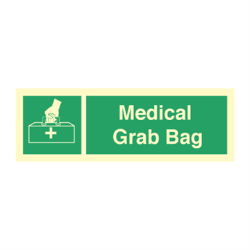 Medical grab bag - Emergency Signs