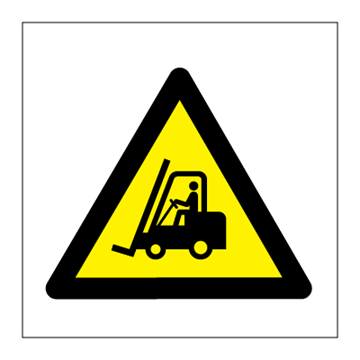 Fork lift trucks - Hazard & Warning Signs