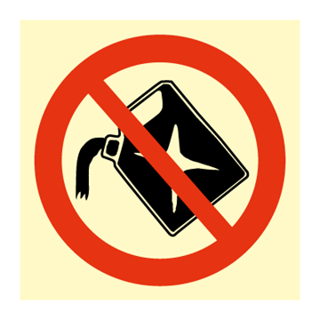 No filling - Prohibition Signs