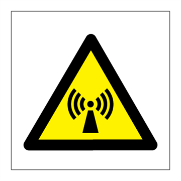 Non-ionizing radiation - Hazard & Warning Signs
