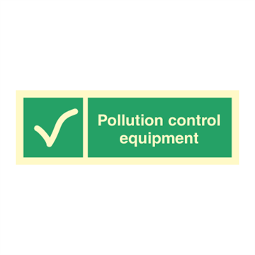 Pollution control equipment - Direction Signs