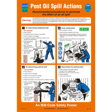 125.216 Post Oil Spill Actions - Safety and awareness posters