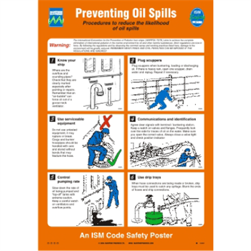 125.206 Preventing Oil Spills - Safety and awareness posters