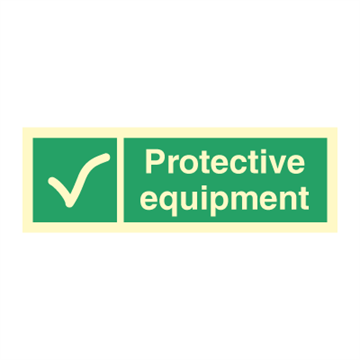 Protective equipment - Direction Signs