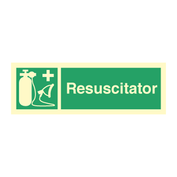 Resuscitator - Emergency Signs