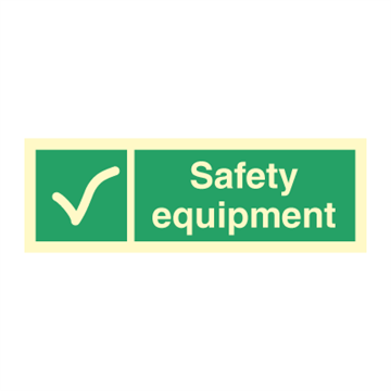 Safety equipment - Direction Signs