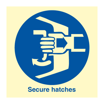 Secure hatches - IMO Symbols