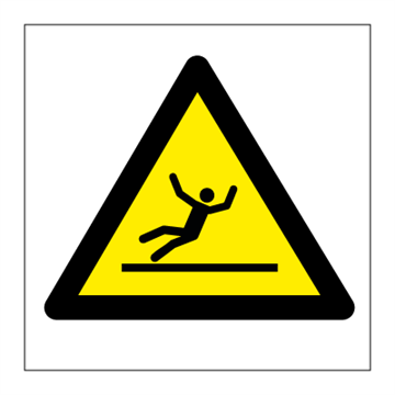 Danger slippery surface - Hazard & Warning Signs